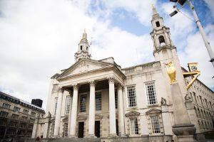 Leeds City Hall Golden Owl