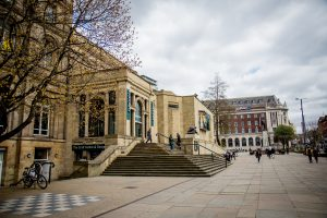 Leeds Library Steps And Chessboard - Radisson