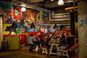 Leeds Trinity Kitchen Graffiti Dining Tables