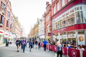 Leeds City Centre Pret Visitors