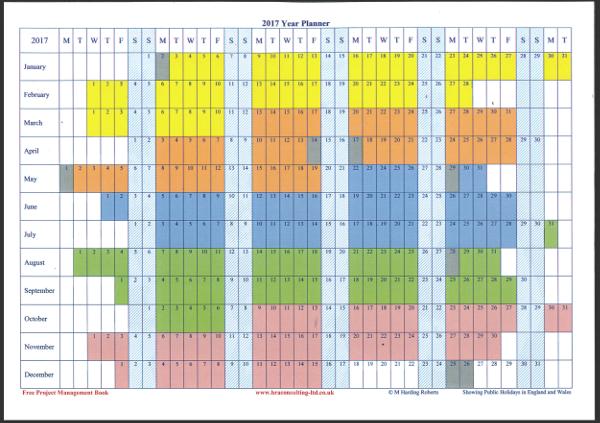 Term Calendar 2017